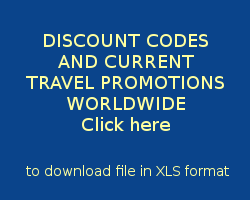 Click here to download file with current discount codes and promotions. The file is in XLS format