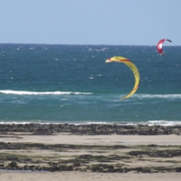 Daymar Bay, North Cornwall, ideal place for sailing, windsurfing or any other type of water sport.