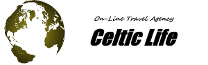 Celtic Life's on-line travel agency: now you can book air tickets for worlwide destinations at the very competitive prices.